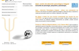 APSI Atención Psicológica Integral Proyecto Carles Gili