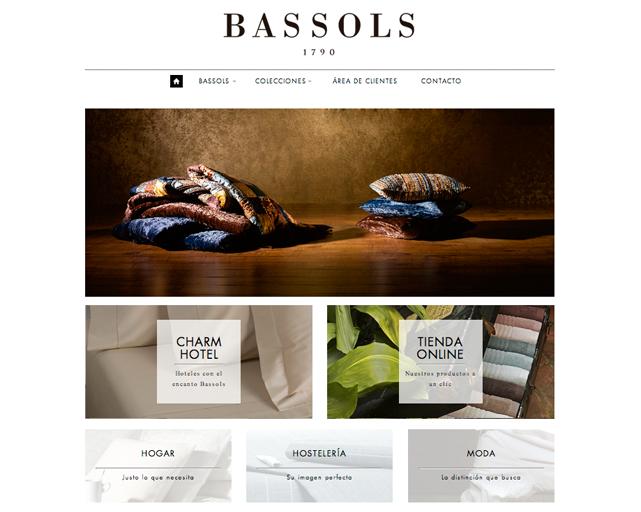 Web de Bassols Tienda de productos decorativos