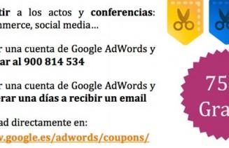 cupon google campañas adWords